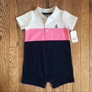 CARTER'S | Polo romper | Size 18 months